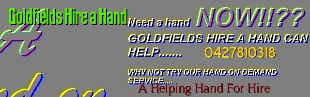 Goldfields Hire a Hand